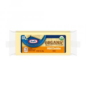 Kraft Organic Mild Cheddar Cheese