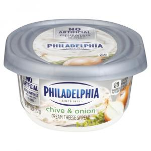 Philadelphia Chive Onion Cream Cheese