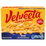 Velveeta Mini Shells & Cheese