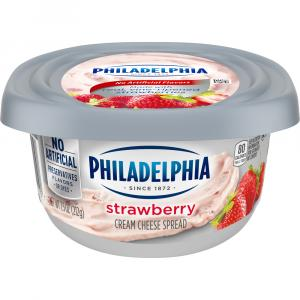 Philadelphia Strawberry Cream Cheese Tub