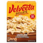 Kraft Velveeta Cheesy Skillets Creamy Beef Stroganoff