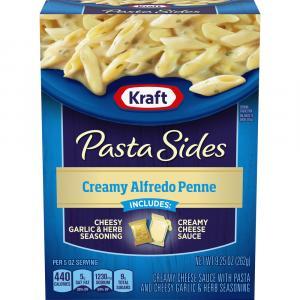 Kraft Pasta Sides Creamy Alfredo Penne