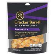 Cracker Barrel Rich & Bold Cubes Cheddar Jack