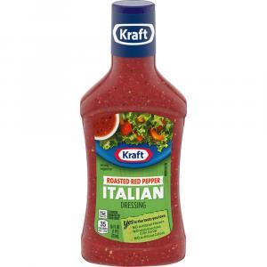 Kraft Roasted Red Pepper Italian Salad Dressing