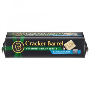Cracker Barrel 2% Vermont Sharp White Cheddar Cheese