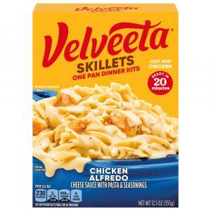 Kraft Velveeta Cheesy Skillets Chicken Alfredo