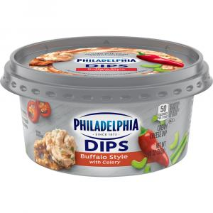 Philadelphia Buffalo Style with Clelery Dip