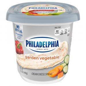 Philadelphia Cream Cheese Garden Vegetable Tub