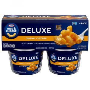 Kraft Deluxe Original Macaroni & Cheese Dinner
