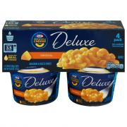 Kraft Deluxe Original Macaroni & Cheese Dinner