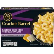 Cracker Barrel Cheddar Havarti Macaroni and Cheese Dinner