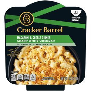 Cracker Barrel Sharp White Cheddar Macaroni & Cheese Dinner