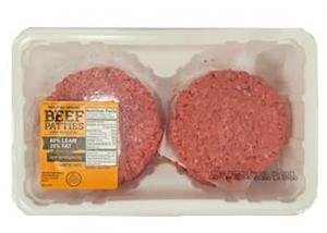 80% Lean Ground Beef Patties