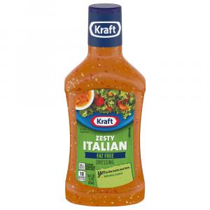 Kraft Fat Free Zesty Italian Salad Dressing