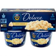 Kraft Deluxe White Cheddar Macaroni & Cheese Dinner