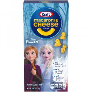 Kraft Frozen 2 Macaroni & Cheese Dinner