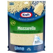 Kraft Part-Skim Shredded Mozzarella Cheese