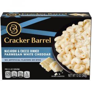 Cracker Barrel Parmesan White Cheddar Macaroni and Cheese