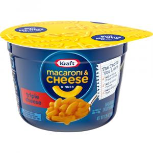 Kraft Easy Mac Triple Cheese Cup