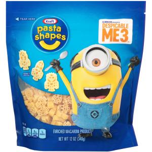 Kraft Despicable Me Pasta Shapes