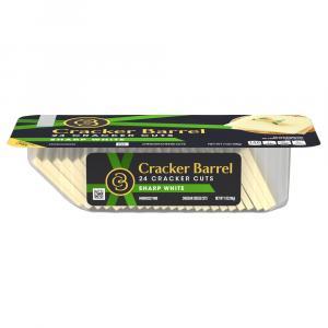 Cracker Barrel White Sharp Cheddar Cracker Cuts
