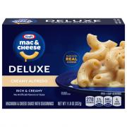 Kraft Deluxe Creamy Alfredo Macaroni & Cheese Dinner