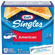 Kraft Yellow American Cheese Singles