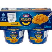 Kraft EZ Mac Original Cups
