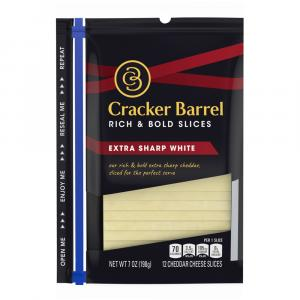 Cracker Barrel Extra Sharp White Cheddar Cheese