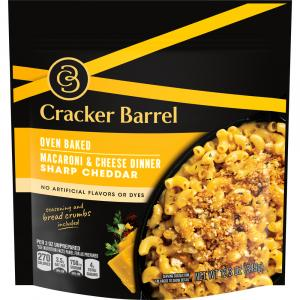 Cracker Barrel Oven Baked Macaroni & Cheese Dinner