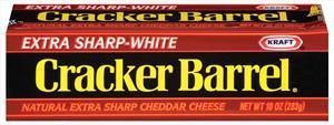 Kraft Cracker Barrel Extra Sharp White Cheddar Stick