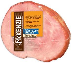 McKenzie Uncured Ham