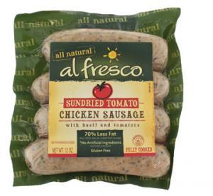 Bean's Tomato Basil Chicken Sausage