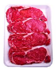 Beef Boneless Ribeye Steak Thin Sliced Family Pack