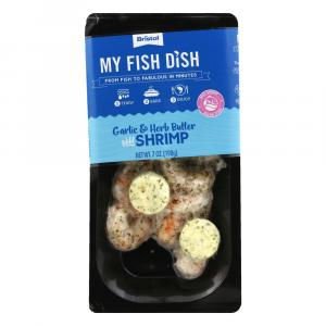 My Fish Dish Wild Cold Water Shrimp Garlic & Herb