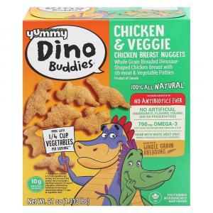 Yummy Dino Buddies Dinosaur-Shaped Chicken Breast