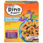Yummy Dino Buddies Chicken Alphabet Nuggets