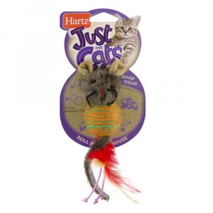 Hartz Rollabout Mouse Cat Toy