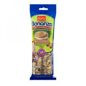 Hartz Bonanza Hamster & Gerbil Treat Sticks Peanut Butter