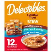 Delectables Stew Variety Lickable Treats