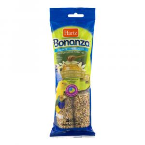 Hartz Bonanza Parakeet Treat Sticks Honey Vanilla Flavor