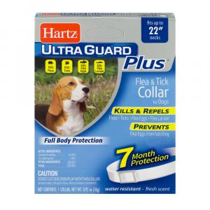 Hartz UltraGuard Plus Flea & Tick Collar for Dogs