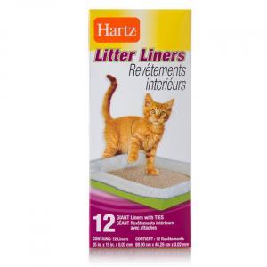 Hartz Heavy Duty Cat Pan Liner