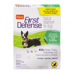 Hartz First Defense Topical Treatment For Dogs Up To 22 Lbs.