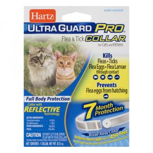 Hartz UltraGuard Pro Reflective Flea & Tick Collar for Cats
