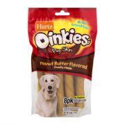Hartz Oinkies Twist Peanut Butter Flavor