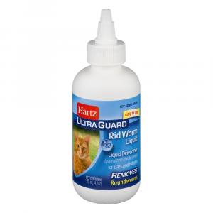 Hartz Ultra Guard Rid Worm Liquid For Cats