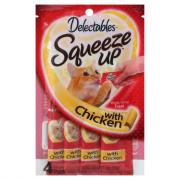 Delectables Squeeze Up with Chicken