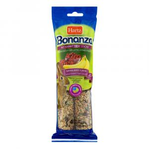 Hartz Bonanza Pet Rabbit Treat Sticks Banana Berry Flavor