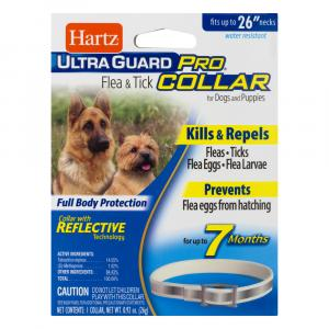 Hartz UltraGuard Pro Reflective Flea & Tick Collar for Dogs